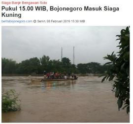 Siaga Banjir Bojonegoro
