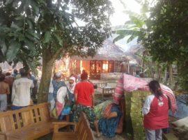 Korban Kebakaran Rumah di Bojonegoro
