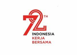 Logo HUT 72 Tahun RI