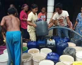 BPBD Bojonegoro Distribusikan Air Bersih Ke Tambakrejo